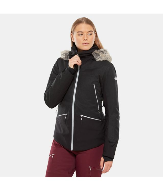 Diameter Hybriddaunenjacke Tnf Black Heather/Tnf Black