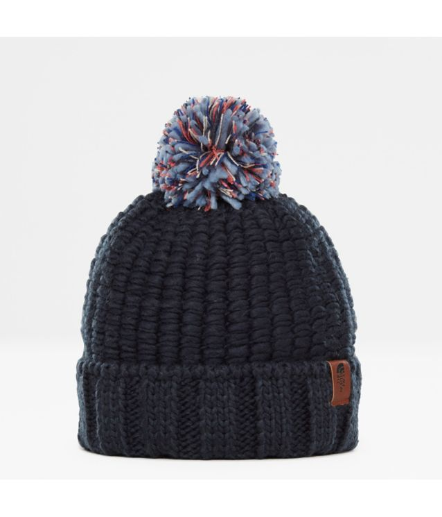 Cosy Chunky Mütze Urbn Navy/Faded Rose Mlti