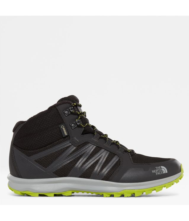 Litewave Fastpack Mid GTX® Stiefel Tnf Black/Lime Green