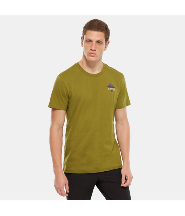 Ridge T-Shirt Fir Green