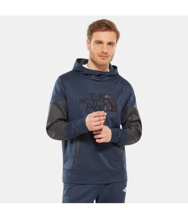 Train N Logo Kapuzenpullover Urban Navy