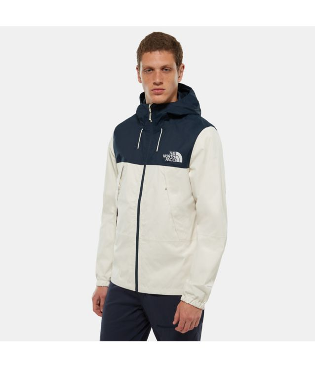 1990 Mountain Q Jacke Vintage White/Urban Navy