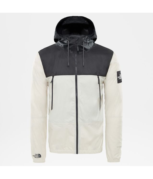 1990 Seasonal Mountain Jacke Vintage White/Asphalt Grey