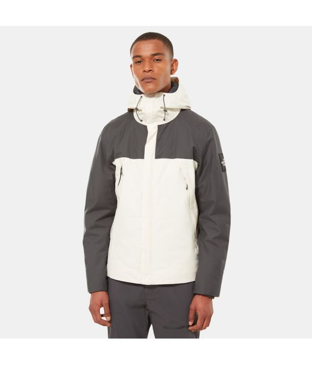 1990 Thermoball™ Mountain-Jacke Vintage White/Asphalt Grey