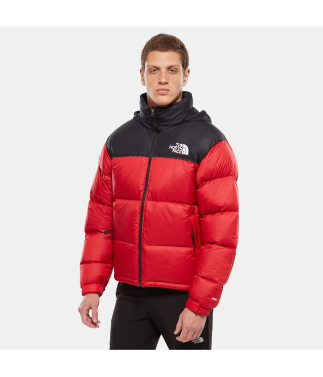 1996 Retro Nuptse Jacke Tnf Red