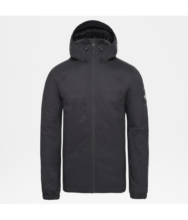 Isolierte Mountain Q Jacke Asphalt Grey