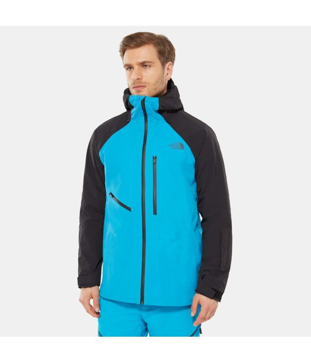 Powderflo Jacke Hyper Blue/Tnf Black