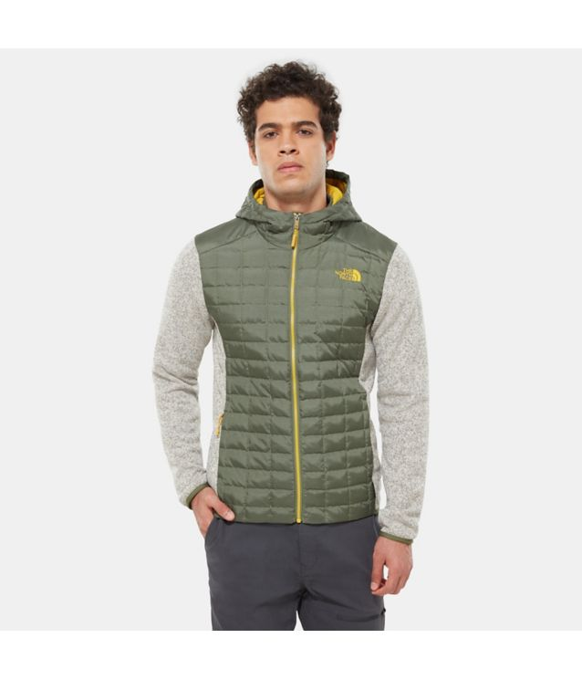 Thermoball™ Gordon Lyons Kapuzenjacke Four Leaf Clover/Oatmeal Heather