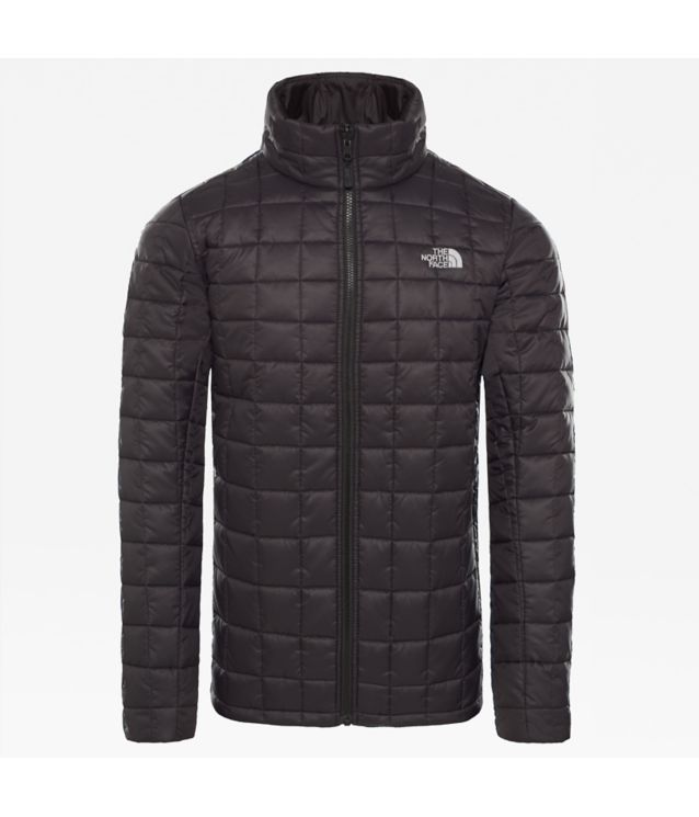 Zip-In Insulated Jacke Tnf Black