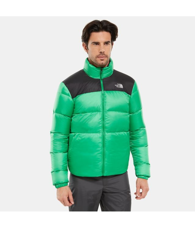 Nuptse III Einzippjacke Primary Green/Tnf Black