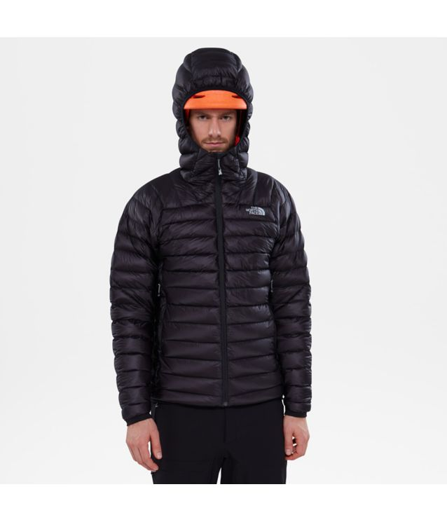 Summit L3 Daunenhoodie Tnf Black