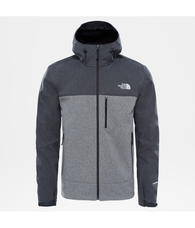 Apex Bionic Hoody Tnf Dark Grey Heather/Tnf Medium Grey Heather