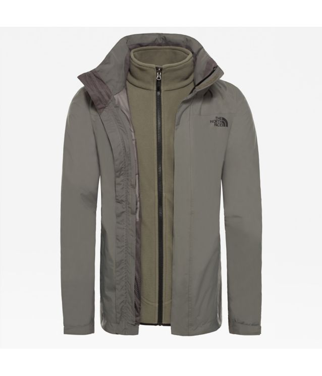 Original Triclimate® 2 Jacke Fusebox Grey/Tnf Black
