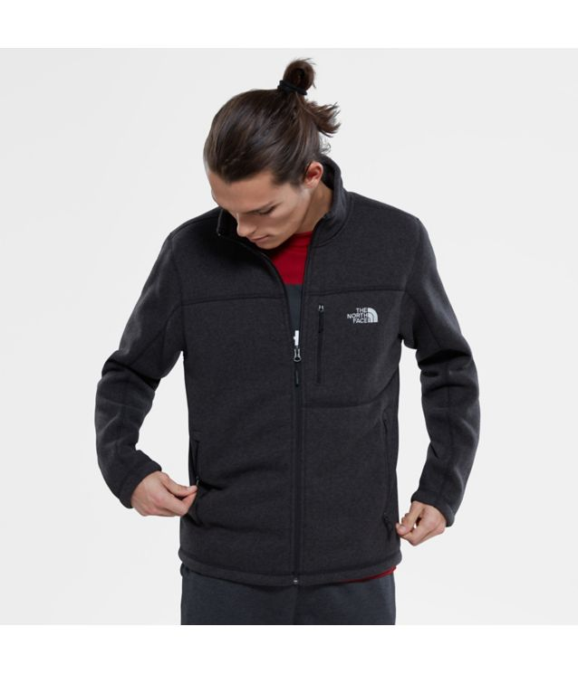 Gordon Lyons Fleecejacke Tnf Black Heather