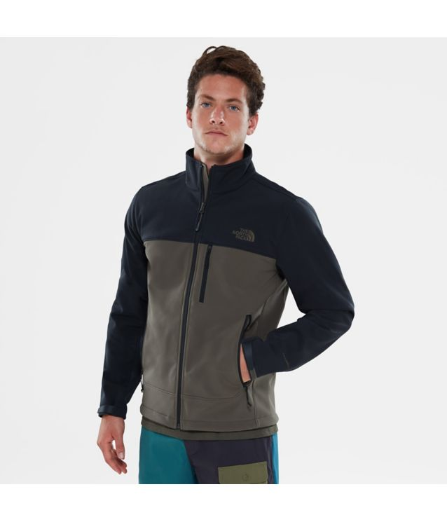Apex Bionic Jacke Tnf Black/New Taupe Green