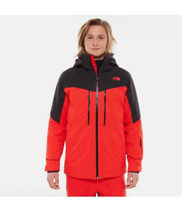 Chakal Jacke Fiery Red/Tnf Black