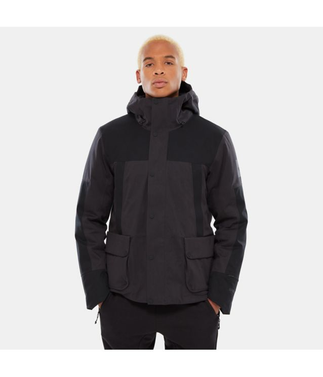 Cryos Insulated GORE-TEX® Mountain Jacke Weathered Black