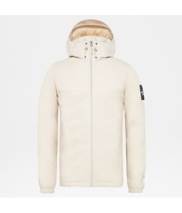 Isolierte Mountain Q Jacke Vintage White