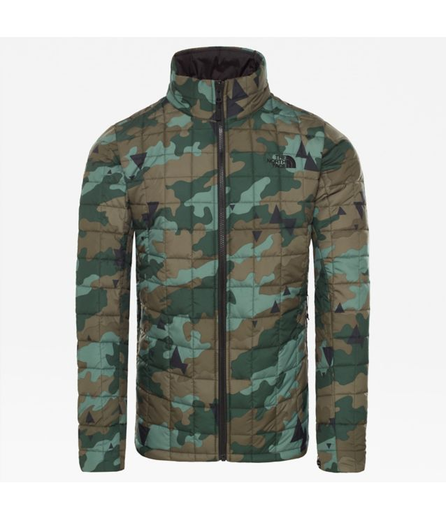Zip-In Insulated Jacke Rosin Green Camo Print