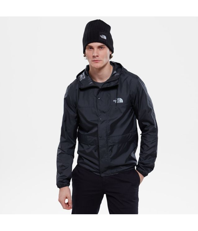 Mountain Jacke 1985 Seasonal Celebration Tnf Black/High Rise Grey