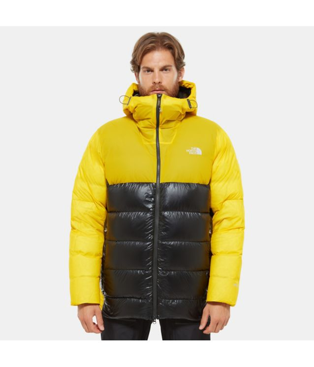 Summit L6 Belay Daunenparka Canary Yellow/Tnf Black