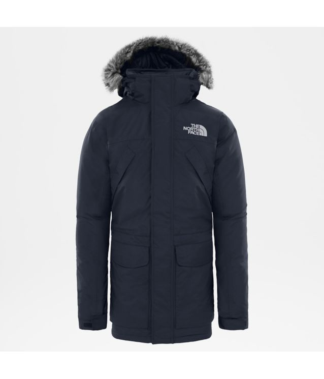 New Peak Parka Urban Navy