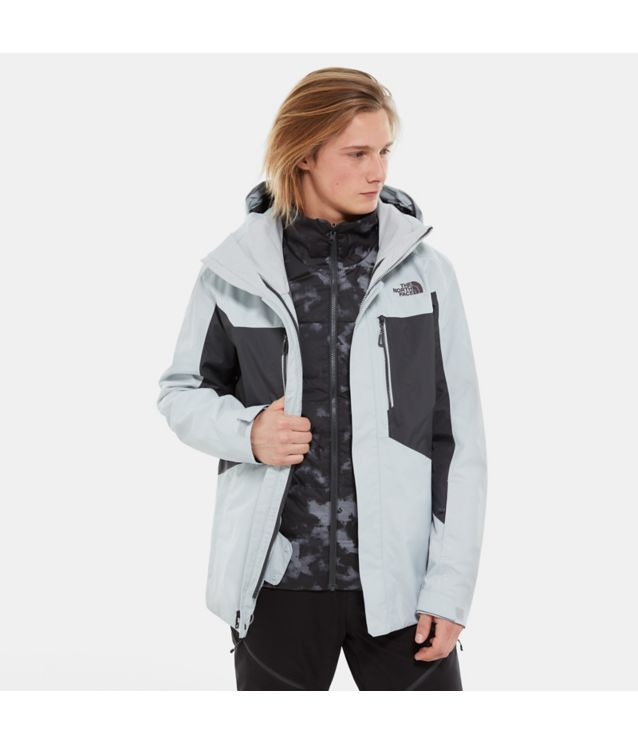 Clement Triclimate® Jacke High Rise Grey/Asphalt Grey