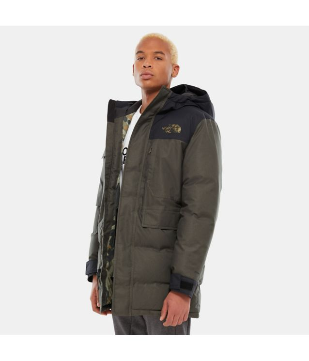 Biggie McMurdo Parka New Taupe Green/New Taupe Green Mcrflkpt