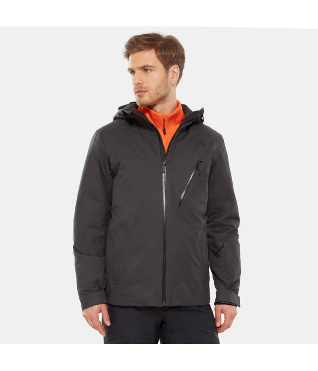 Descendit Jacke Tnf Dark Grey Heather