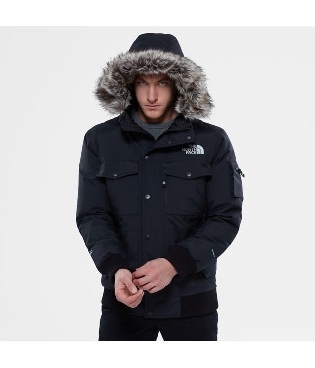 Gotham Jacke Tnf Black/High Rise Grey