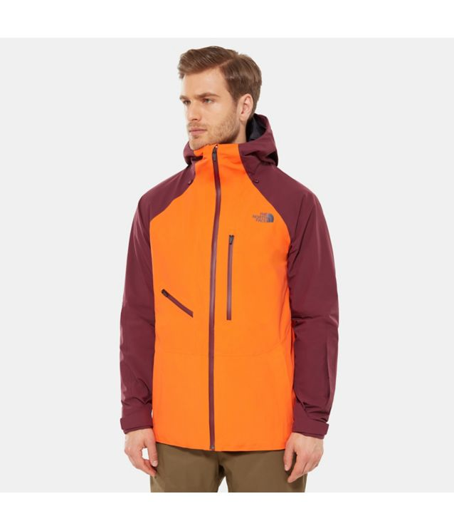 Powderflo Jacke Persian Orange/Fig