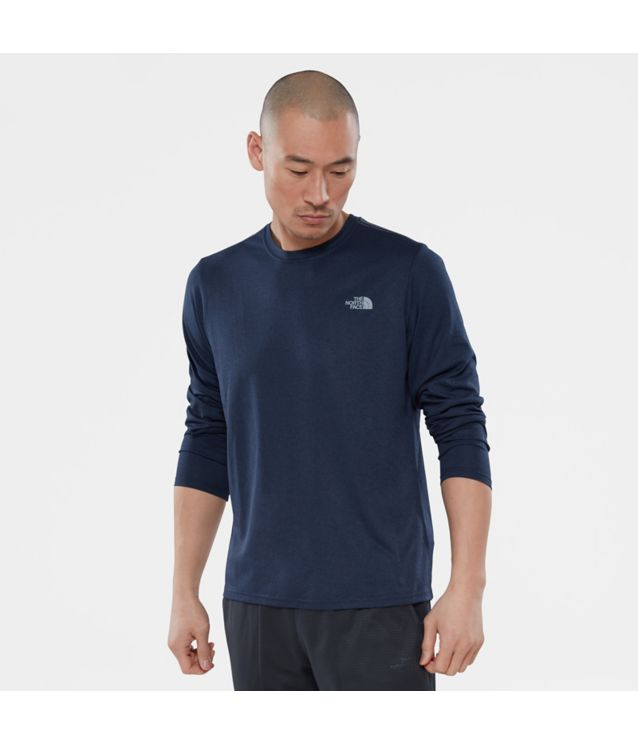 Reaxion Amp Langarmshirt Urban Navy Heather