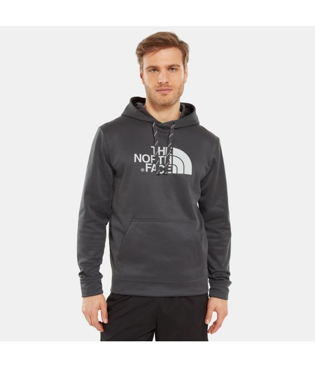 Surgent Halfdome Kapuzenpullover Tnf Dark Grey Heather/High Rise Grey