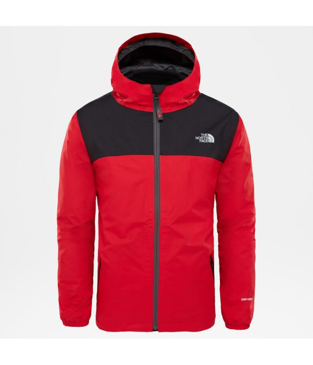 Elden Triclimate® Regenjacke Tnf Red/Tnf Black