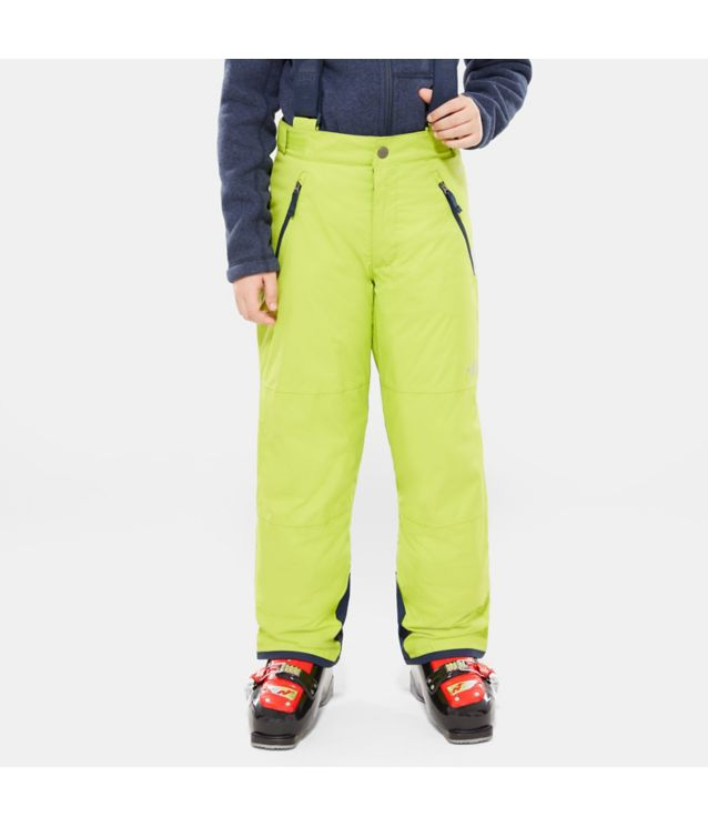 Snowquest Suspender Plus Hose Lime Green