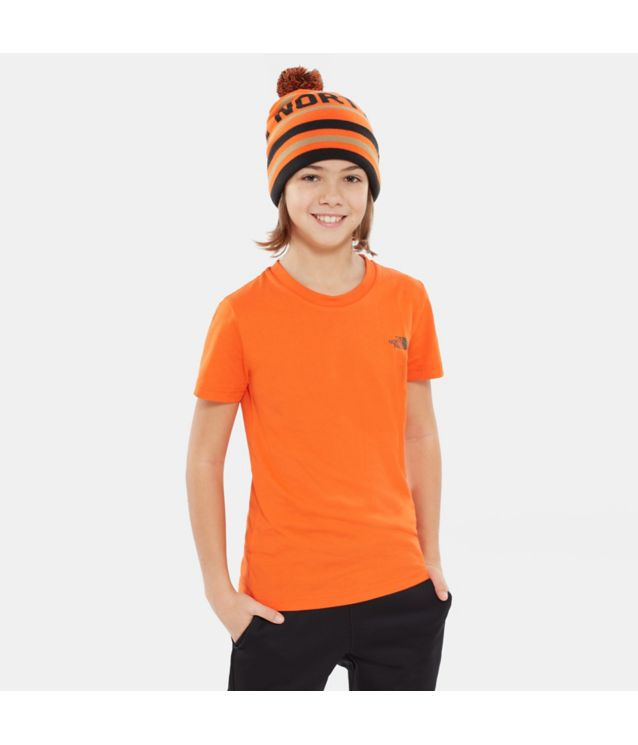 Simple Dome T-Shirt Persian Orange